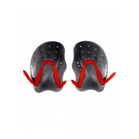 speedo Tech Paddles Red/Grey